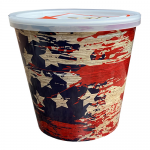 American Flag Bucket of Chips - 12oz