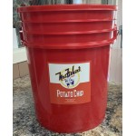 5 pound container-Red
